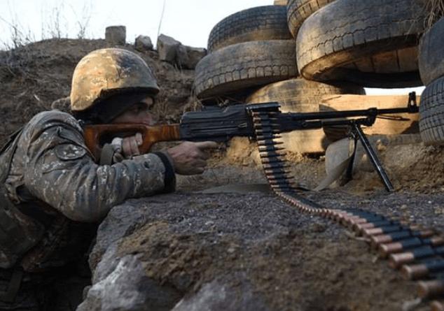 Հակառակորդը հայ դիրքապահների ուղղությամբ արձակել է շուրջ 2300 կրակոց. ԱՀ ՊԲ