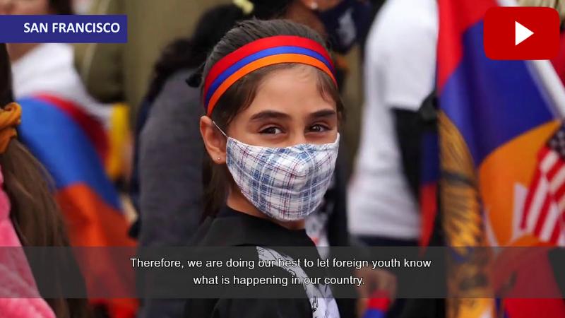 Սան Ֆրանցիսկոյի ծովածոցի հայ համայնքը Հայաստանի ու Արցախի կողքին է (տեսանյութ)