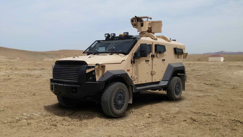 ՊԲ-ն մարտի դաշտում ոչնչացրել է իսրայելական արտադրության Sandcat զրահամեքենա․ ՊՆ խոսնակ