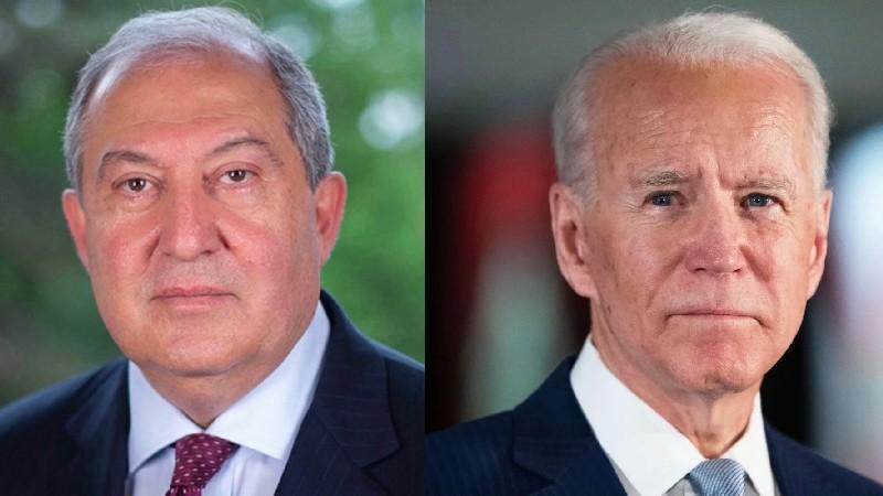Արմեն Սարգսյանը ուղերձ է հղել ԱՄՆ նախագահ Ջոզեֆ Բայդենին