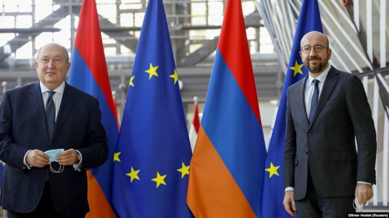 Եվրոպական խորհրդի նախագահ Շառլ Միշելն անընդունելի է համարում ԼՂ հակամարտության գոտում արտաքին ուժերի ներգրավվածությունը