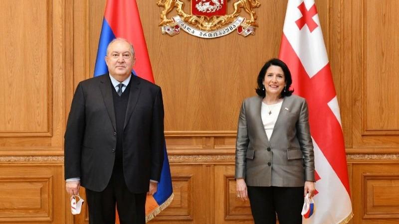 Նախագահ Արմեն Սարգսյանը նամակ է հղել Վրաստանի նախագահ Սալոմե Զուրաբիշվիլիին