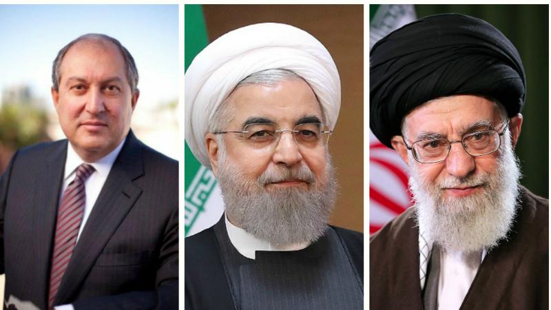 Արմեն Սարգսյանը շնորհավորական ուղերձներ է հղել Իրանի նախագահին և հոգևոր առաջնորդին