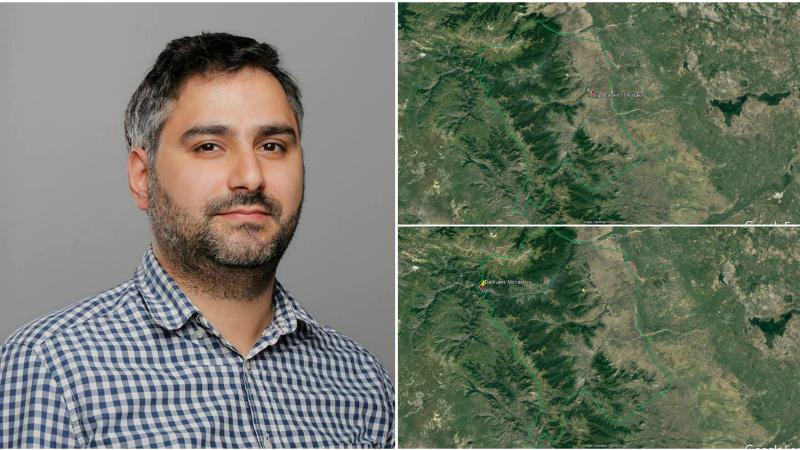 Քարտեզից երևում է, որ Դադիվանքն ու Տիգրանակերտը մնում են հայկական (կամ ռուսական) ուժերի տարածքում․ Սարհատ Պետրոսյան (լուսանկարներ)