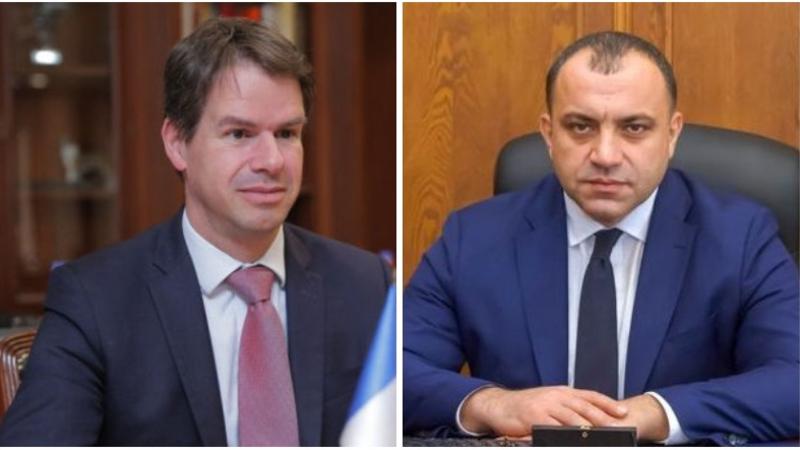 ՍԴ նախագահը և ՀՀ-ում Ֆրանսիայի դեսպանը քննարկել են սահմանադրական արդարադատության ոլորտներում հայ-ֆրանսիական երկկողմ համագործակցությանը վերաբերվող հարցեր