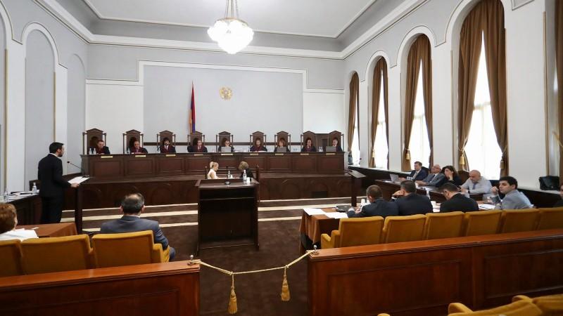 Սահմանադրական դատարանը հեռացավ դռնփակ խորհրդակցության գործով որոշում կայացնելու