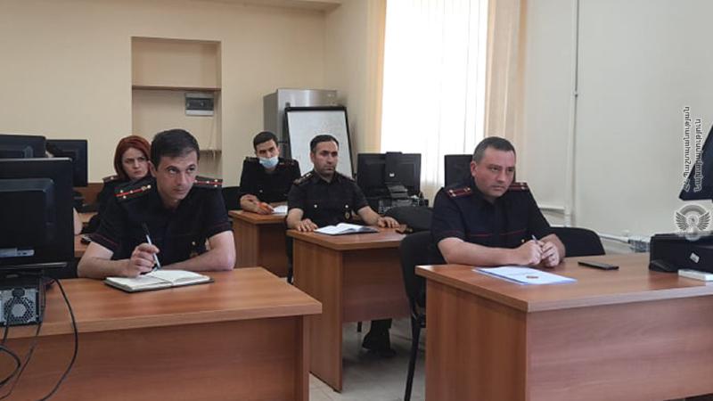 ՊՆ ռազմական ոստիկանության անձնակազմի համար անցկացվել է սեմինար-դասընթաց