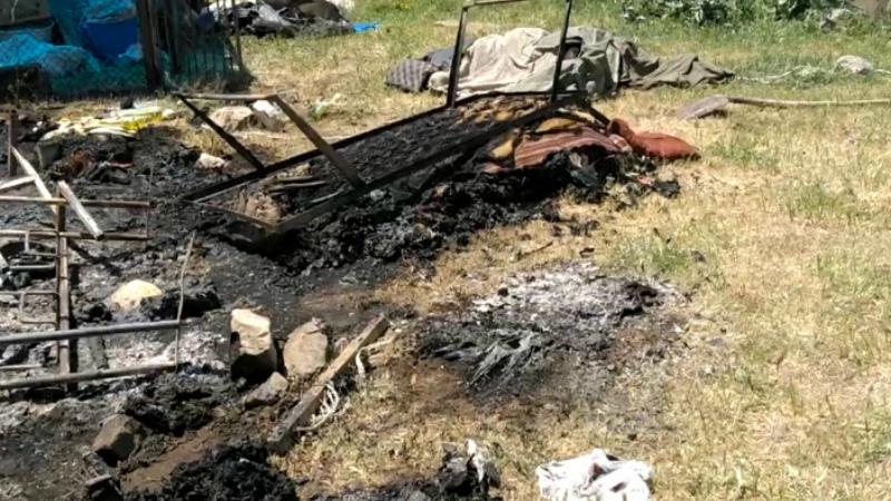Այրվել է փայտյա տնակ․ կա զոհ. ՀՀ ԱԻՆ