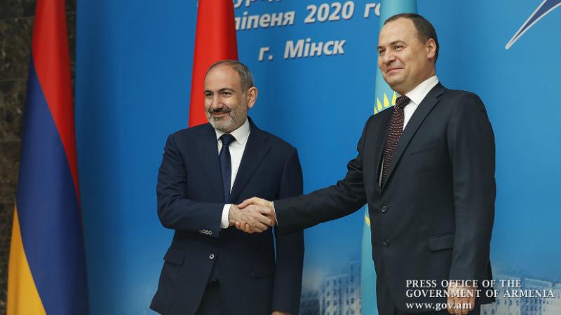 Ադրբեջանը չի կարողանա ստիպել մեզ չհիմնավորված և միակողմանի զիջումների գնալ. վարչապետը Մինսկում մասնակցել է Եվրասիական միջկառավարական խորհրդի նիստին