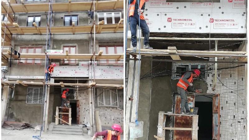 Քաջարանի բազմաբնակարան շենքերն արդիականացվում են և ջերմամեկուսացվում