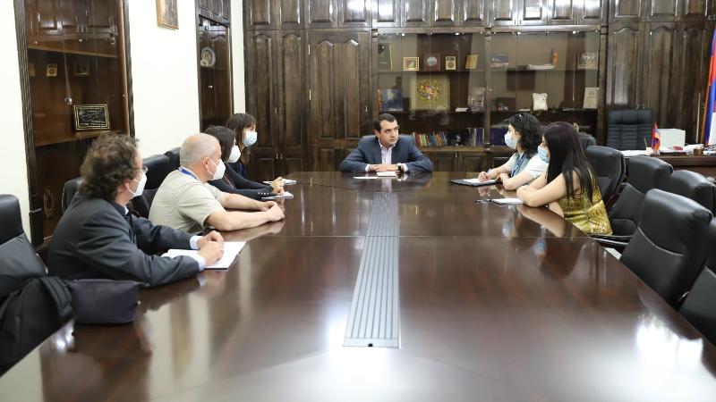 Շիրակի մարզպետն ընդունել է ԵԱՀԿ/ԺՀՄԻԳ-ի դիտորդական առաքելության ներկայացուցիչներին
