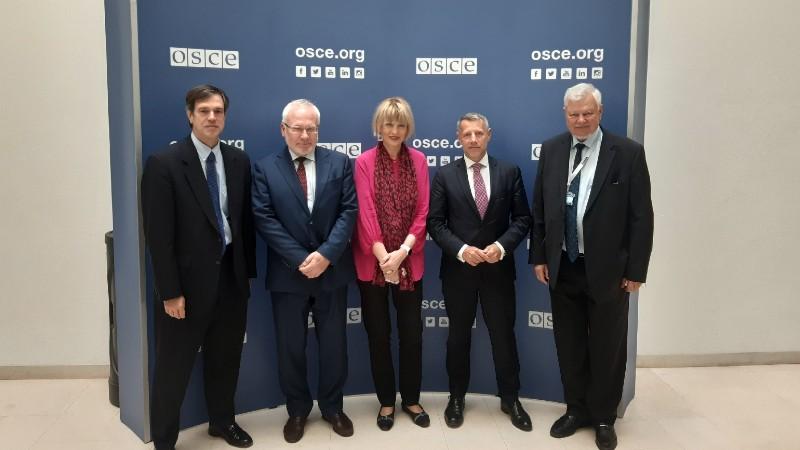 ԵԱՀԿ գլխավոր քարտուղարը աջակցություն է հայտնել Մինսկի խմբի համանախագահների ջանքերին