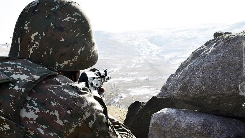 ՀՀ պետական սահմանի հայ-ադրբեջանական շփման գծի ամբողջ երկայնքով պահպանվել է կայուն օպերատիվ իրավիճակը. ՊՆ