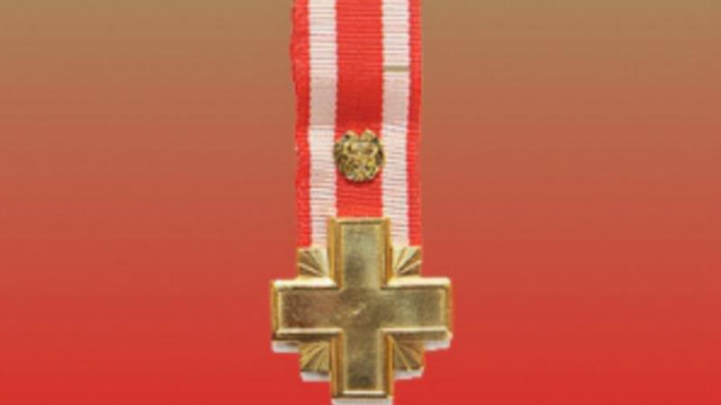 Փոխգնդապետ Սամվել Թավադյանը պարգևատրվել է «Մարտական խաչ» 2-րդ աստիճանի շքանշանով