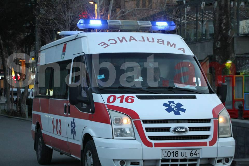Պայթյունի հետևանքով 26-ամյա երիտասարդ է տեղափոխվել հիվանդանոց
