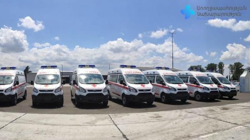 ՀՀ առողջապահության նախարարության կողմից գնած շտապօգնության 10 մեքենաները՝  որպես նվիրատվություն, հանձնվելու են Արցախին