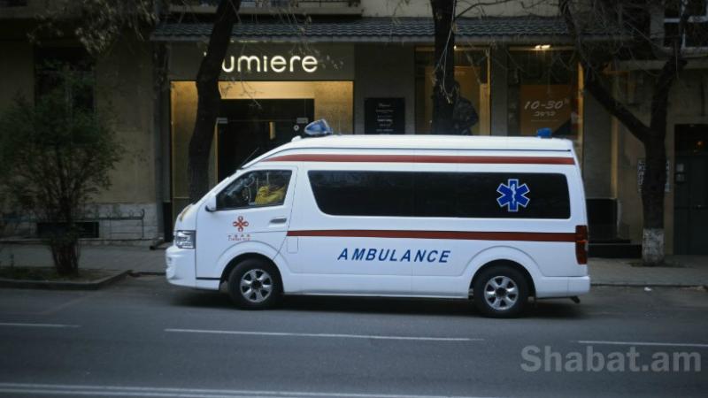 Արտակարգ դեպք Երևանում. շտապօգնությունը գլխի շրջանում կտրած վերքով 29-ամյա քաղաքացու է հոսպիտալացրել