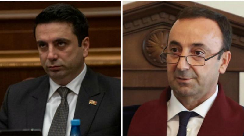 Հրայր Թովմասյանը կշարունակի՞ պաշտոնավարել․ Ալեն Սիմոնյանի պատասխանը