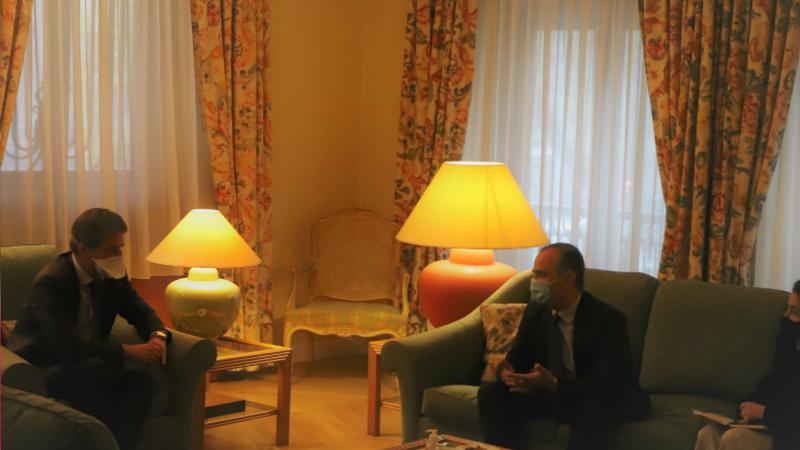 Զարեհ Սինանյանը հանդիպել է ՀՀ-ում Ֆրանսիայի դեսպանի հետ