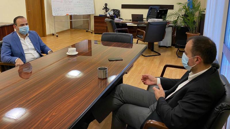 Արսեն Թորոսյանը և Զարեհ Սինանյանը քննարկել են հետպատերազմական շրջանում առողջապահության ոլորտում Հայաստան-սփյուռք համագործակցությունը