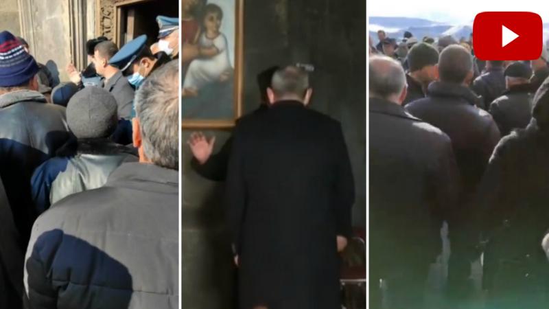 Սիսիանցիները պահանջում են Նիկոլ Փաշինյանի ձեռքսեղմումից հրաժարված հոգևորականի հեռացումը (տեսանյութ)