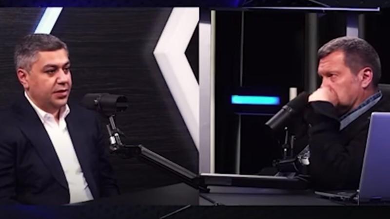 Крым наш. Վանեցյանը Սոլովյովի հետ հարցազրույցի ժամանակ շփոթվեց (տեսանյութ)
