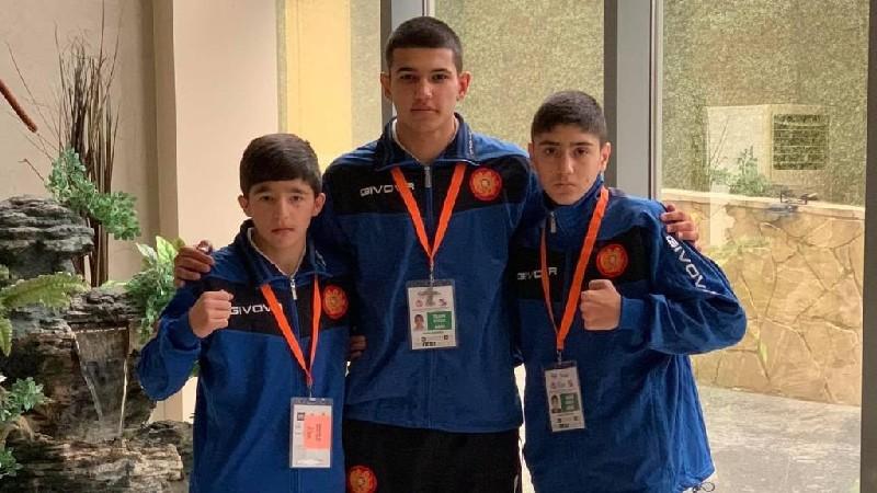 Հայաստանի թիմը 3 մեդալ է նվաճել Եվրոպայի պատանեկան առաջնությունում