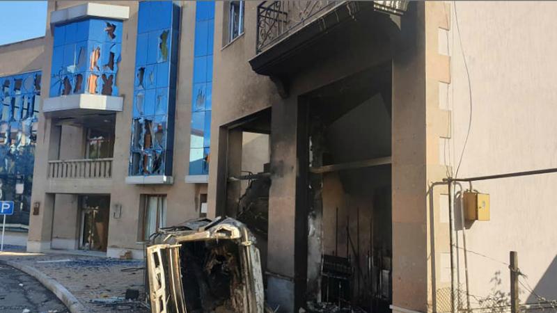 Ադրբեջանա-թուրքական ուժերը հրթիռակոծում են Ստեփանակերտը․ Արցախի ԱԻՊԾ