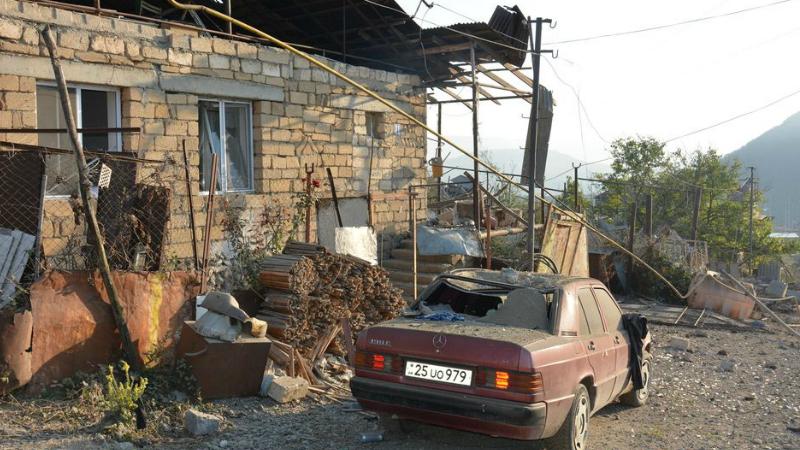 Առավոտյան ժամը 8-ին Ստեփանակերտում հայտարարվել է օդային տագնապ․ ադրբեջանական ուժերը կիրառել են «Սմերչ» տիպի ռեակտիվ համակարգ․ ԱՀ ԱԻՊԾ