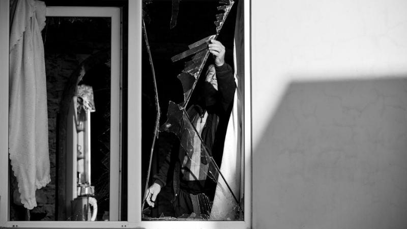 Ստեփանակերտ քաղաքում թշնամու հրետակոծության հետևանքները (լուսանկարներ)