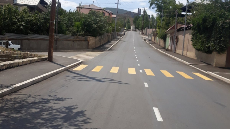 Ստեփանակերտի փողոցները ասֆալտապատվում են