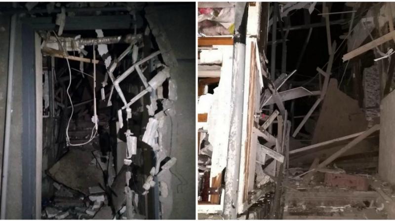 Ստեփանակերտում հրթիռակոծությունից 2 հարկանի բնակելի տունն ամբողջությամբ ավերակի է վերածվել (լուսանկարներ)