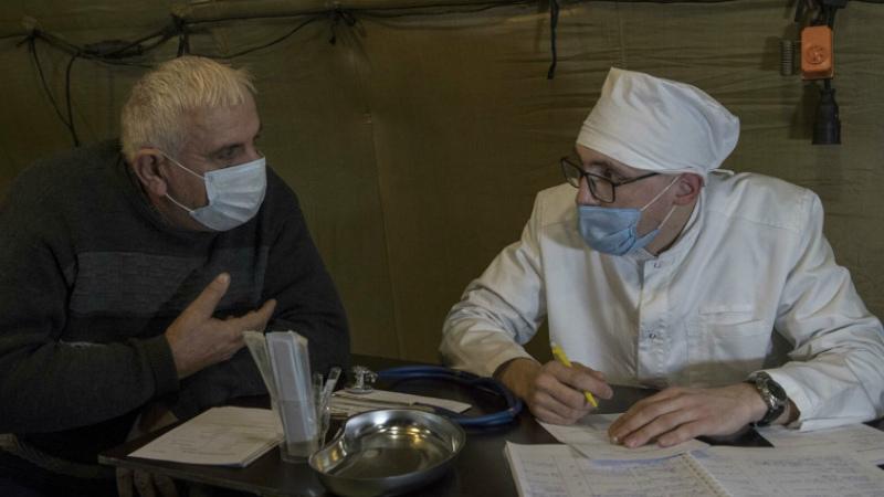 Ռուսաստանի ռազմական բժիշկները Ստեփանակերտում սկսել են հիվանդների ընդունումը