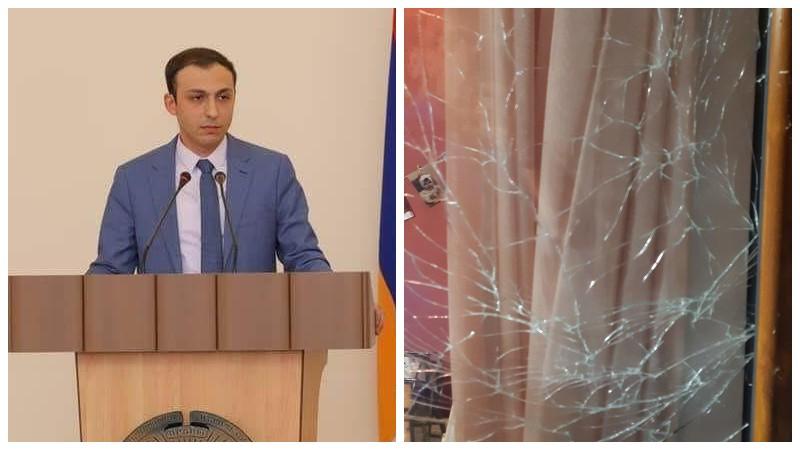 Ադրբեջանը կրակել է հայկական խաղաղ բնակավայրերի ուղղությամբ․ տուժել է Թաղավարդ համայնքի բնակիչներից մեկի տունը․ Արցախի ՄԻՊ