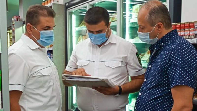 Արաբկիր և Դավթաշեն վարչական շրջանների սուպերմարկետներից երկուսում հայտնաբերվել են խախտումներ․ ՍԱՏՄ
