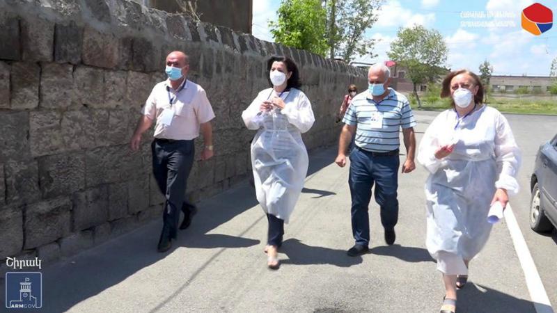 ԱԱՏՄ ուժեղացված ստուգայցերը` Գյումրիում և Արթիկում (լուսանկարներ)