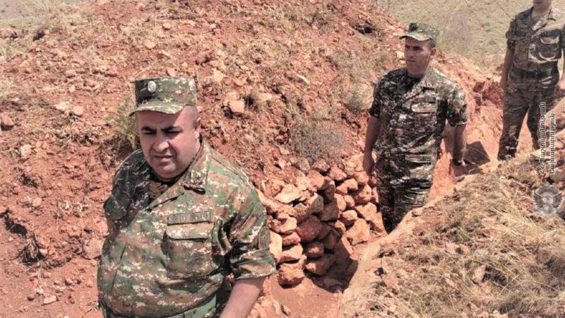 4-րդ զորամիավորման հրամանատարի տեղակալն այցելել է մարտական դիրքեր, ստուգել զինծառայողների պատրաստության աստիճանը