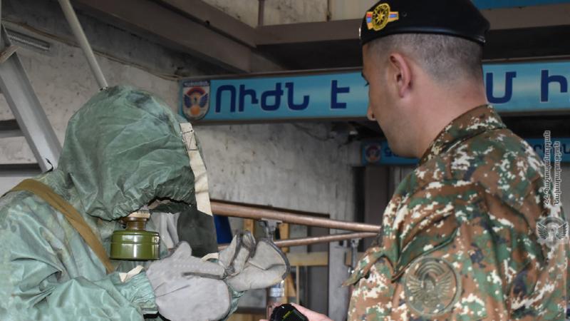 5-րդ զորամիավորման զորամասերում անցկացվել են ստուգումներ