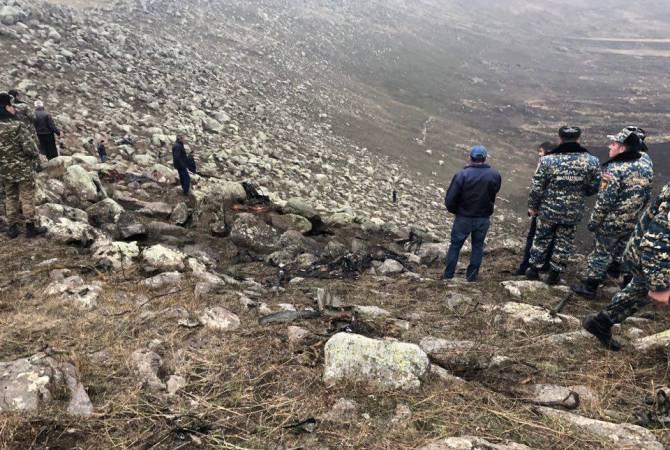 ՔԿ-ն նոր մանրամասներ է հայտնում վթարված ՍՈՒ-25 մարտական ինքնաթիռի վթարի մասին