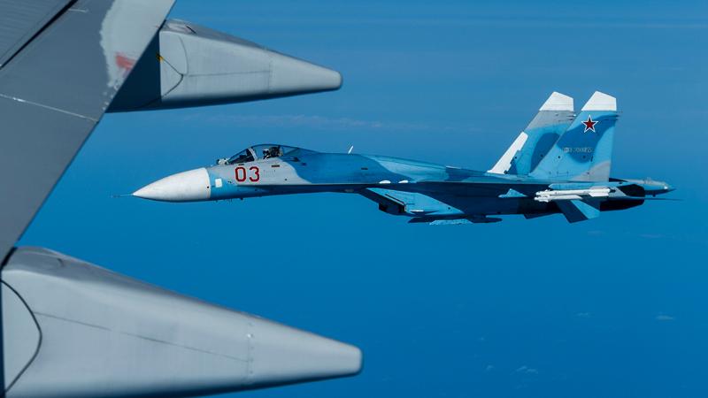 Ռուսական Սու-27 կործանիչը օդ է բարձրացել՝ Սև ծովի երկնքում ամերիկյան հետախույզ-օդանավին ուղեկցելու համար
