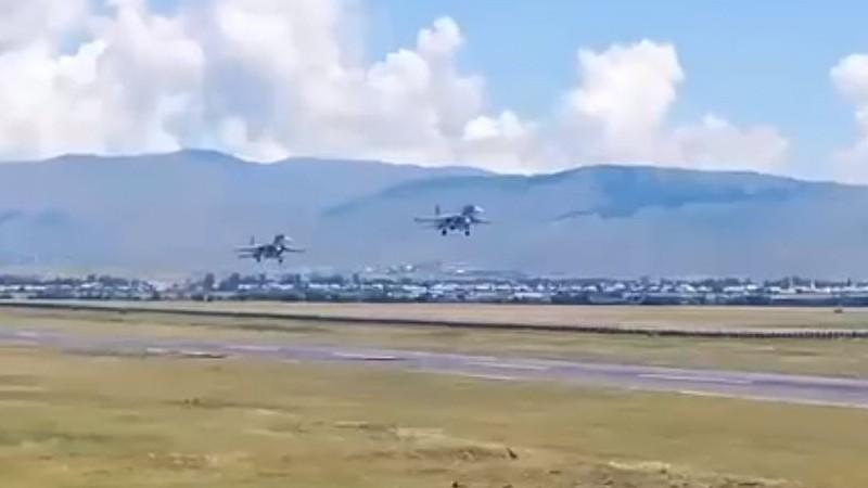 Հայաստանի օդային սահմաններն անառիկ են․ «Սու-30CM»-ները դուրս են գալիս մարտական հերթապահության (տեսանյութ)