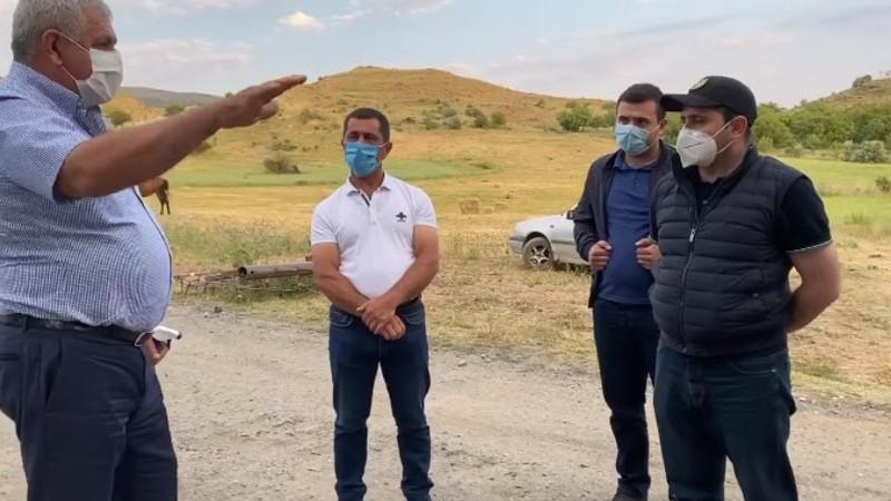 Հիմնանորոգվում է ռազմավարական նշանակության Զառիթափ-Նոր Ազնվաբերդ-Խնձորուտ 14 կմ ճանապարհը. (տեսանյութ)
