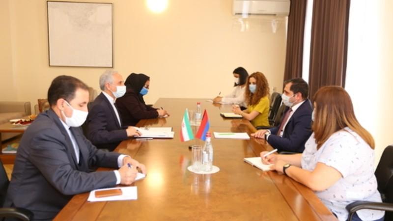 Սուրեն Պապիկյանն ու Հայաստանում Իրանի նոր դեսպանը քննարկել են հետագա համագործակցությանն առնչվող հարցեր