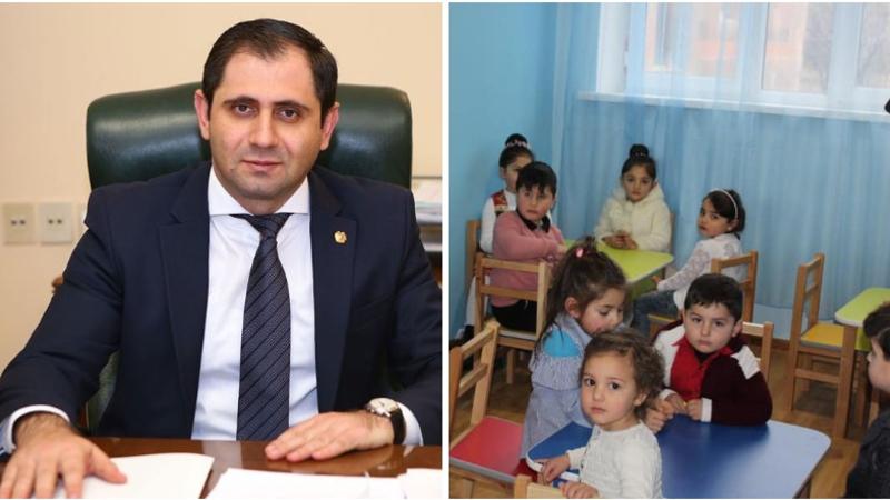2018-ից մինչ օրս Հայաստանում կառուցվել և վերանորոգվել է շուրջ 115 մանկապարտեզ. Սուրեն Պապիկյան