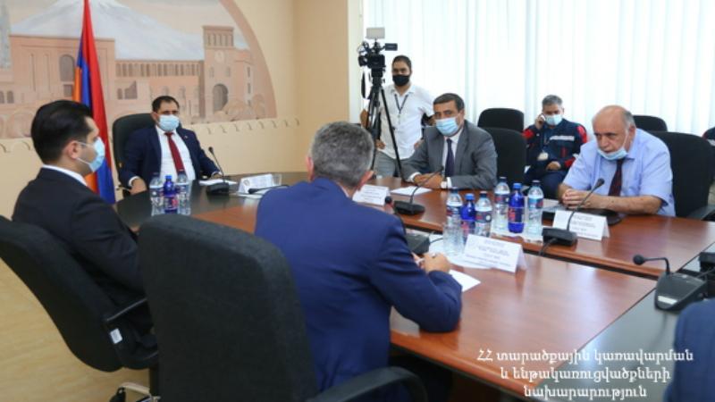 Սուրեն Պապիկյանը Հայկական ատոմային էլեկտրակայանի աշխատակազմին է ներկայացրել նորանշանակ գործադիր տնօրեն Էդուարդ Մարտիրոսյանին