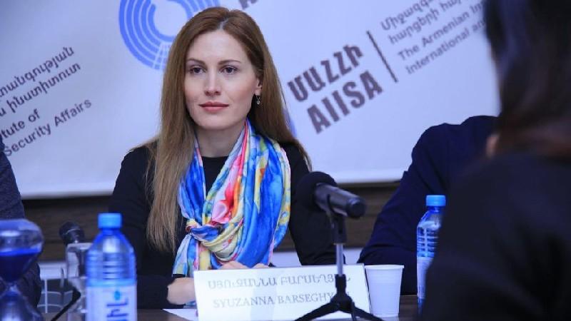 Սյուզաննա Բարսեղյանը ազատվել է վարչապետի օգնականի պաշտոնից