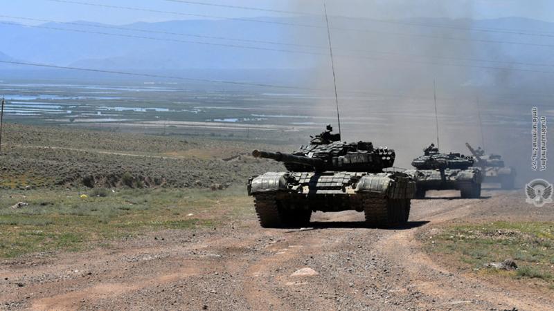 5-րդ զորամիավորումում, տարբեր ստորաբաժանումների ներգրավմամբ, անցկացվել է մարտավարական զորավարժություն