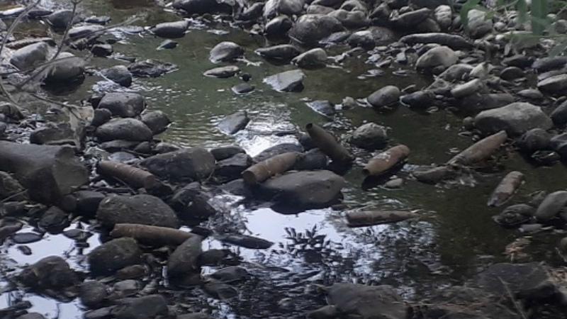 Արփա գետում հայտնաբերվել է տանկի արկ