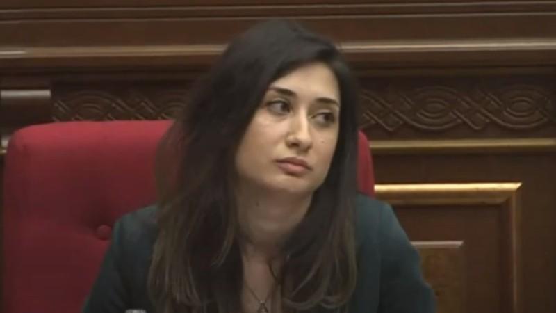 ԱԺ-ն Տաթևիկ Բարսեղյանին չընտրեց Կոռուպցիայի կանխարգելման հանձնաժողովի անդամ