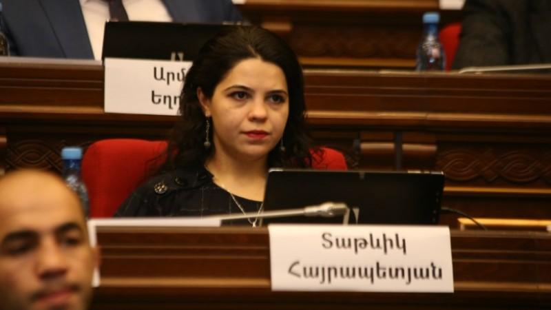 Բաքվում անցակվող շքերթը ագրեսիայի, թուրքական ֆաշիզմի խորացմանն ուղղված «հաղթանակի» շքերթ է. Տաթևիկ Հայրապետյան